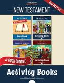 120 New Testament Quizzes & Activities: Activity Book Bundle