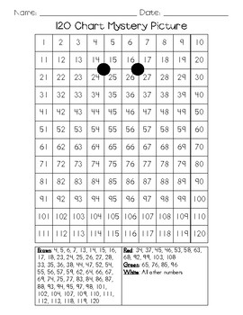 120 Number Grid Mystery Pictures (Christmas Bundle)