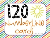 120 Numberline Cards