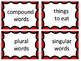 Picture / Word Cards -- 120 of Each PLUS 20 Sorting Direct