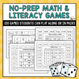 120 Print & Play Math and Literacy Games for K-2