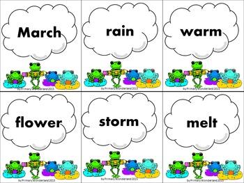 Word Cards Seasons