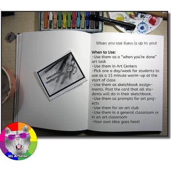 120 Sketchbook Task Cards