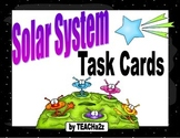 120 Solar System Task Cards with Answer Key and Game Board