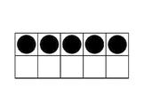 120 Ten Frames for Counting, Base Ten, MathTalks