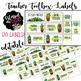 120 Watercolor Cactus & Succulent Teacher Toolbox Labels *editable*