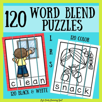 120 Word Blend Puzzles