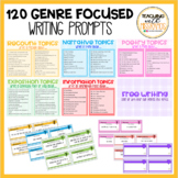 120 Writing Prompts (Genre Focused)