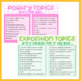 120 Writing Prompts (Genre Focused)