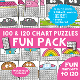 120 and 100 Chart Puzzle Bundle