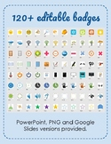 120+ badges and images for gamification in the classroom