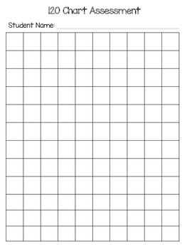 120 chart assessment page