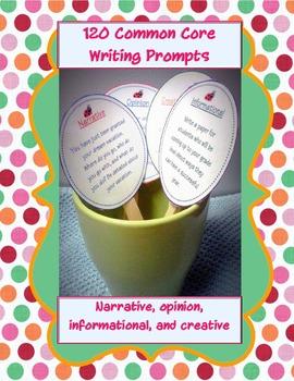 120 writing prompts cards (bundled set)! inform, opinion,