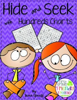 Place Value - 120's Chart Hide and Seek