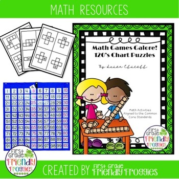 Hundreds Chart and 120's Chart Puzzles