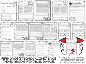 3,000 K-5 Anytime Math, Reading, Language, and Writing MEGA Printables BUNDLE