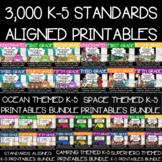3,000 K-5 Anytime Math, Reading, Language, and Writing MEG