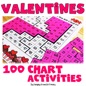 120 Chart Task Cards and Printables - Sweet Treats