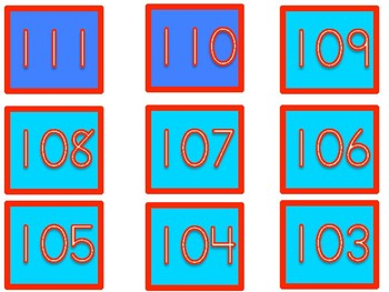 120s Chart Numbers