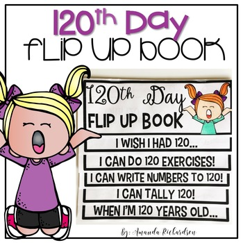 120th Day Flip Up Book