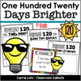 120th Day of School Activities  120 Days of School