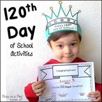 120th Day of School Activities for kindergarten, preschool, first grade