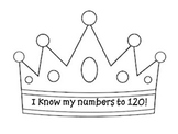 120th day crown template