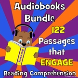 122 AUDIOBOOKS BUNDLE Fun Reading Comprehension: Reading Fluency