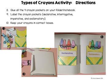Types of Sentences Activities