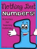 Beginning Of The Year Math Centers - Nothing But Numbers!