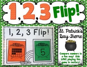 1,2,3 FLIP A St. Patrick's Day Theme!