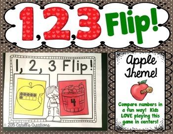 1,2,3 FLIP An Apple Theme!