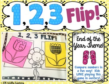1,2,3 FLIP An End of Year Theme!