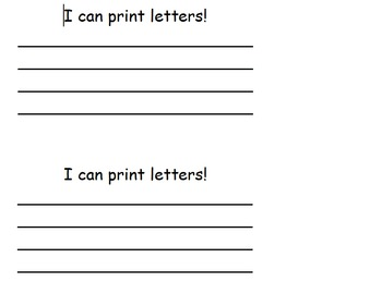 1,2,3 Look At Me- Beginning and Ending of School Booklet