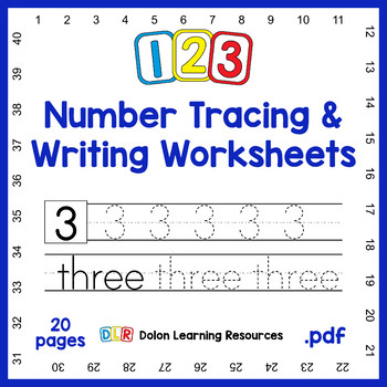 Kindergarten A Z And 123 Tracing Worksheets: You Can Either ...