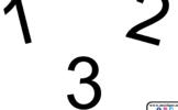 123 Numbers Clickable Slideshow- Smartboard/Kooshball