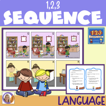 Sequence 123- ordering pictures and telling stories