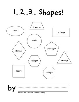 1...2...3... Shapes! (A Book About Shapes, Counting, and Numbers)