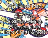 123 Ukulele Play! - a one-year curriculum for teaching beg