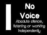 123 Voice Level Descriptions