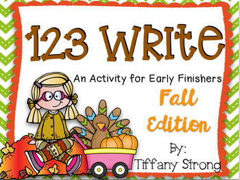 123 Write! (Fall Edition)