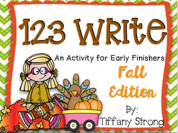 123 Write! (Fall Edition)