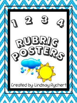 1,2,3,4 Rubric Poster