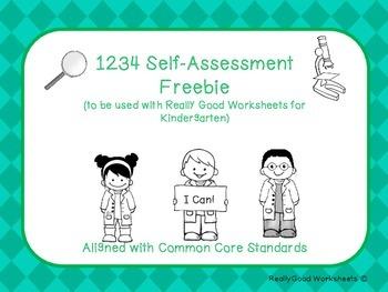 1234 Self Assessment Anchor Chart