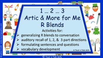 1...2...3...Artic & More for Me......R Blends