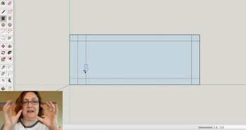 Design Nameplate project 123D Design and SketchUp