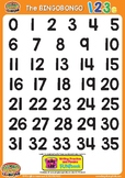 123s Number Classroom Poster 0 - 35 - ESL/EFL Math Countin