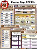 154 Page PDF Pioneer Unit Social Studies Education Unit