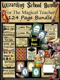 124 Page WIZARDING CLASSROOM MEGA DECOR BUNDLE *Harry Potter Inspired*