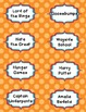 126 Book Labels for your library!  Easy to cut, Pre-K-8th Grade
